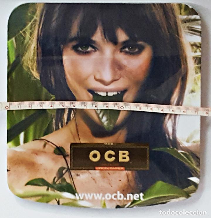 Ceniceros: Bandeja o cenicero con publicidad de OCB. - Foto 2 - 160857550