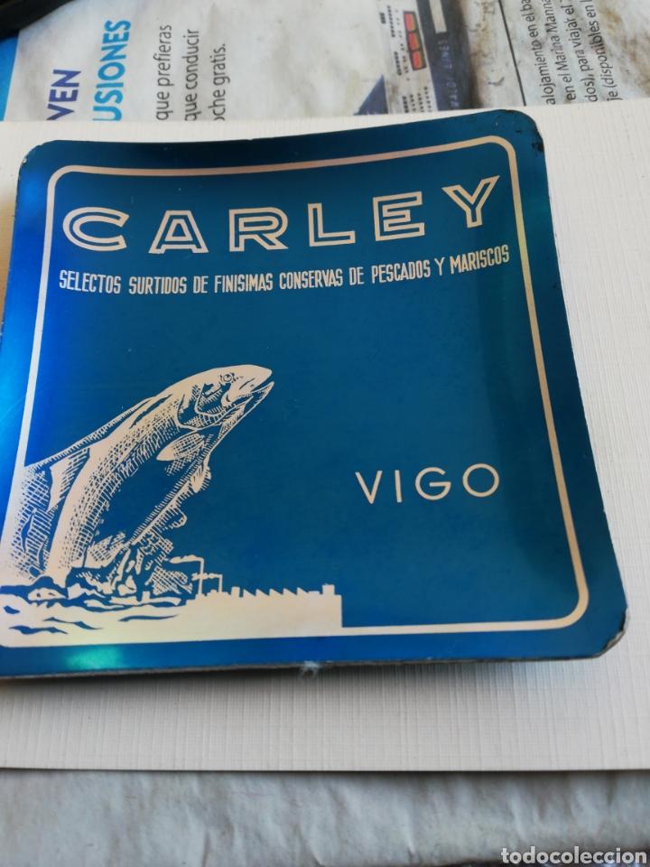 CENICERO CARLEY,,CONSERVAS, VIGO (Coleccionismo - Objetos para Fumar - Ceniceros)