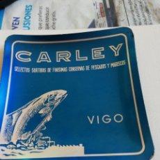 Ceniceros: CENICERO CARLEY,,CONSERVAS, VIGO. Lote 161802233