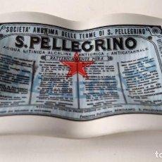 Ceniceros: CENICERO PUBLICIDAD SAN PELLEGRINO DE OPALINA. Lote 164069082