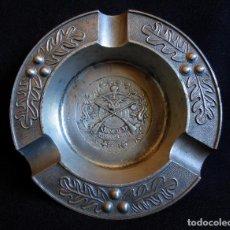 Ceniceros: ANTIGUO CENICERO DE CAZA FABRICADO POR GRENNINGLOH ALEMANIA. Lote 164088866