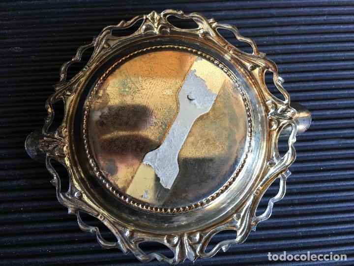 Ceniceros: PEQUEÑO CENICERO DE METAL PLATEADO Y REPUJADO - Foto 4 - 165081830