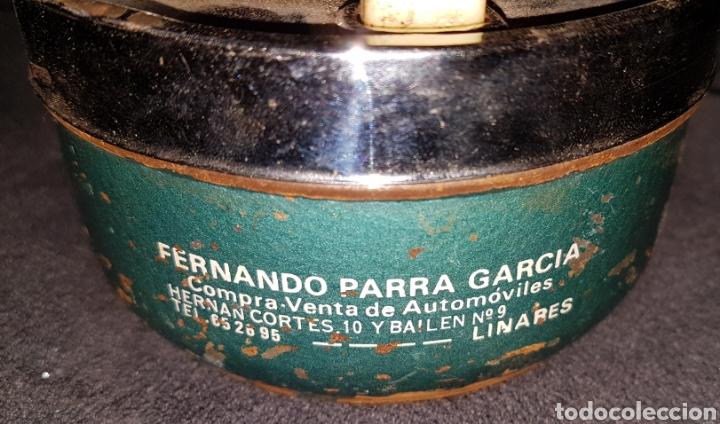 Ceniceros: Cenicero vintage publicidad Linares - Foto 4 - 165794057