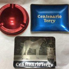 Ceniceros: CENICEROS CENTENARIO TERRY COÑAC. Lote 167783840
