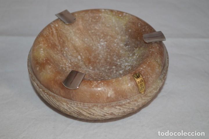 Ceniceros: Precioso cenicero en mármol veteado y plata de ley. romanjuguetesymas. - Foto 7 - 167861796