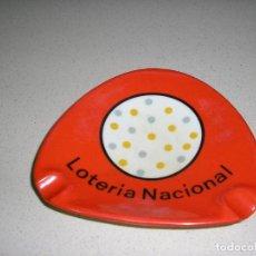Ceniceros: CENICERO ORNAMINA IBERIA DE LA LOTERIA NACIONAL. Lote 169797416
