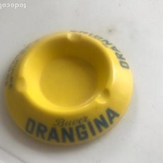 Ceniceros: CENICERO DE PORCELANA ORANGINA 1960'S. . Lote 170533488