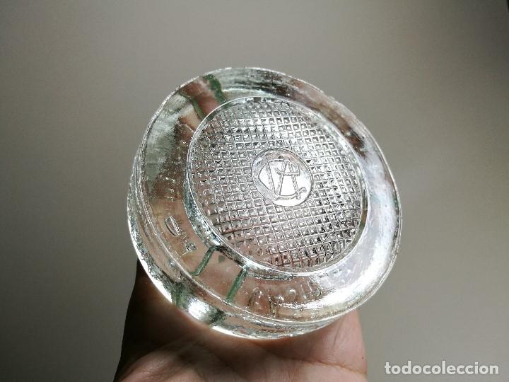 Ceniceros: Cenicero Publicitario de vidrio cristal- ANIS LA CASTELLANA - Años 50 - Foto 5 - 171696742