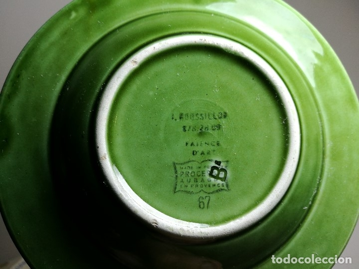 Ceniceros: Cenicero Publicitario de PORCELANA CERAMICA bebida---ATTIK CUSENIER AÑOS 50-60. - Foto 8 - 171708100