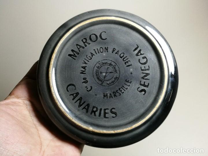 Ceniceros: Cenicero Publicitario FRANCES -Compagnie de Navigation Paquet BARCO CRUCERO---AÑOS 50 -60 - Foto 7 - 171711745