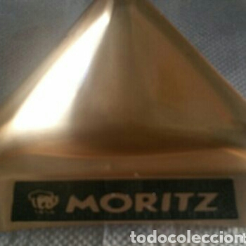 CERVEZAS MORITZ BARCELONA . CENICERO ESTILO RETRO (Coleccionismo - Objetos para Fumar - Ceniceros)