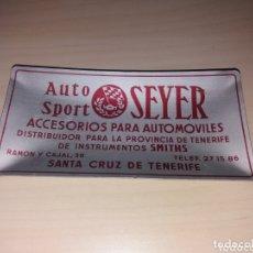 Ceniceros: ANTIGUO CENICERO AUTO SPORT SEYER - SANTA CRUZ DE TENERIFE. Lote 172470755
