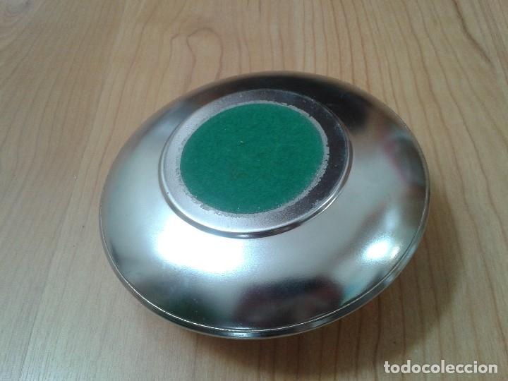 Ceniceros: Cenicero -- Metal -- con depósito o hueco para cigarrillos -- 20 cm diámetro -- Italia - Foto 3 - 172620092