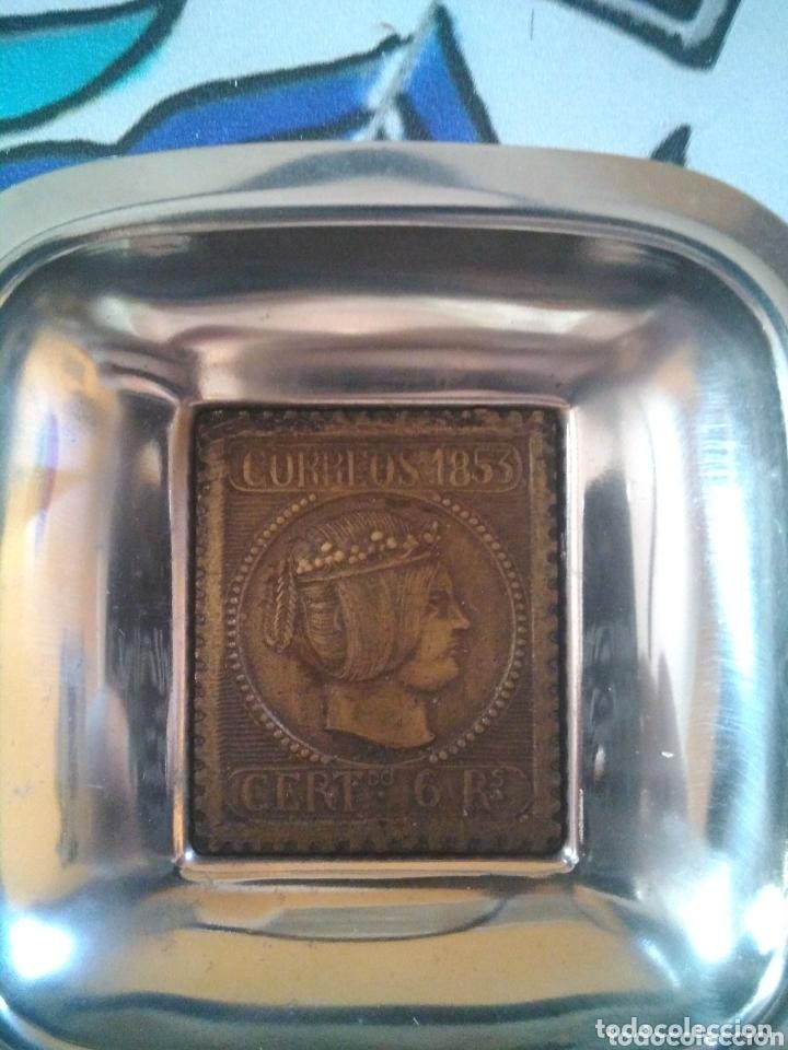 Ceniceros: 2 ceniceros Correos 1853 - Foto 2 - 173848192