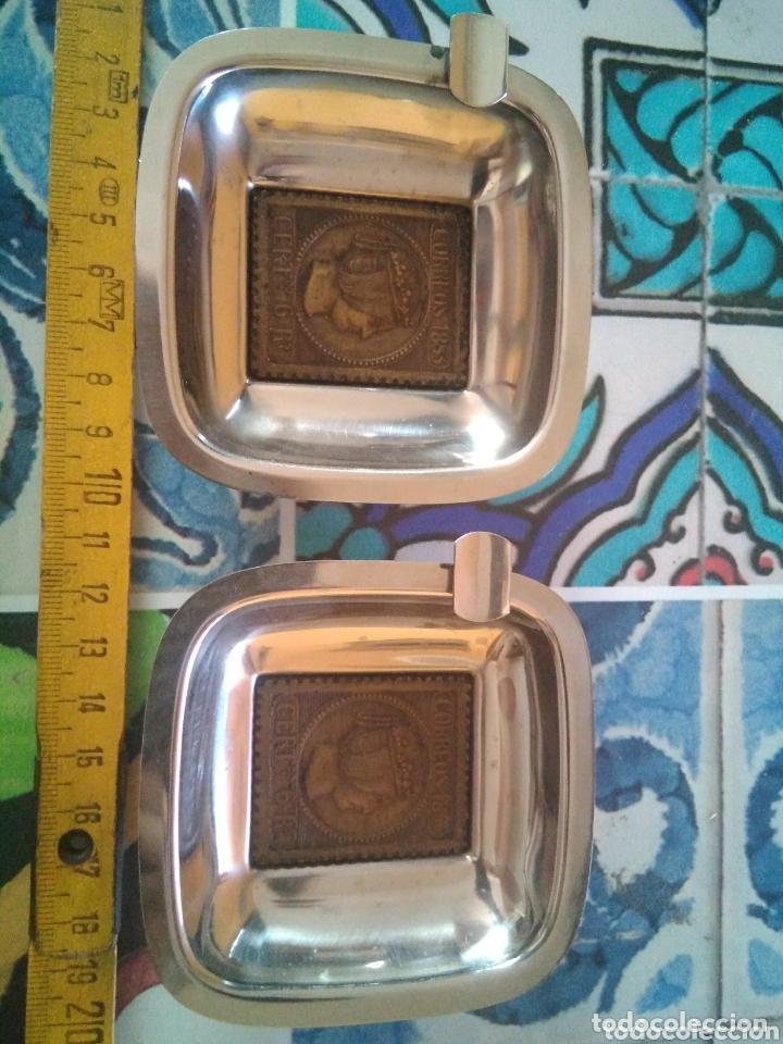 Ceniceros: 2 ceniceros Correos 1853 - Foto 3 - 173848192