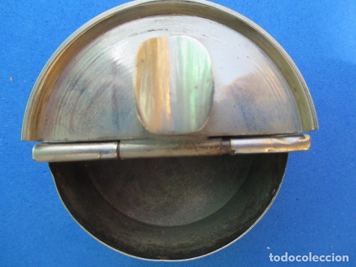 Ceniceros: CENICERO METAL DE VIAJE VINTAGE - COLECCION - ENVIO GRATIS - Foto 3 - 173864379