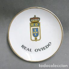 Ceniceros: CENICERO CERAMICA REAL OVIEDO - CENICERO-76. Lote 174929130