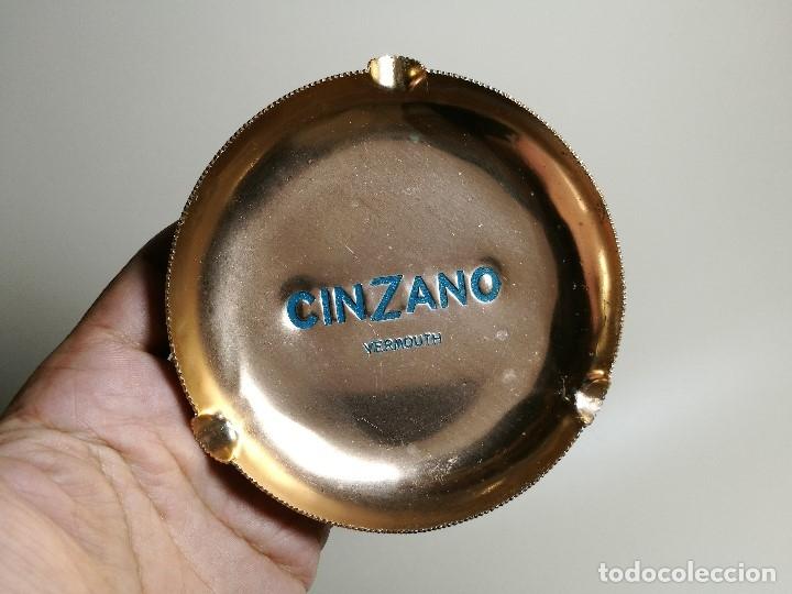 Ceniceros: Cenicero Aluminio Publicitario --CINZANO VERMOUTH - Foto 5 - 175025087
