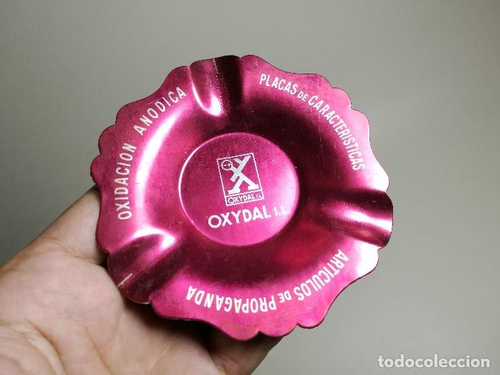 Ceniceros: Cenicero Aluminio serigrafiado Publicitario --OXYDAL S.L-- - Foto 3 - 175025370