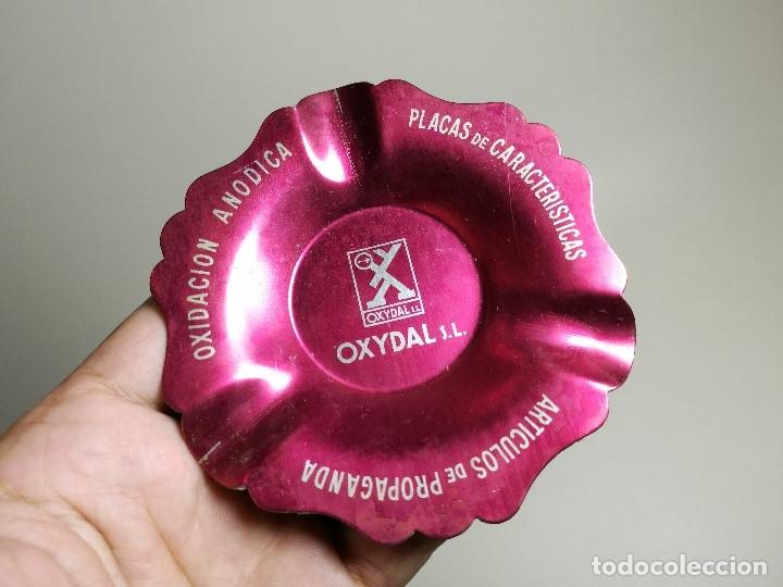 Ceniceros: Cenicero Aluminio serigrafiado Publicitario --OXYDAL S.L-- - Foto 4 - 175025370