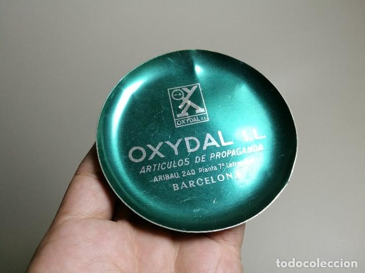 Ceniceros: Cenicero Aluminio serigrafiado Publicitario --OXYDAL S.L--BARCELONA - Foto 3 - 175025479