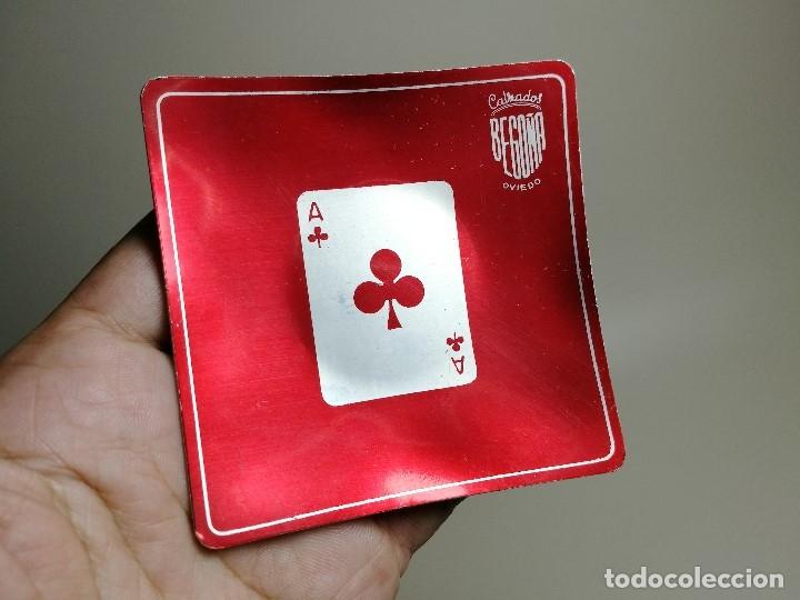 Ceniceros: Cenicero Aluminio serigrafiado Publicitario CALZADOS BEGOÑA OVIEDO - Foto 4 - 175046220