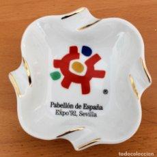 Ceniceros: CENICERO CERÁMICA PABELLÓN DE ESPAÑA - EXPO ' 92 SEVILLA - NUEVO - COLECCIÓN. Lote 175915538