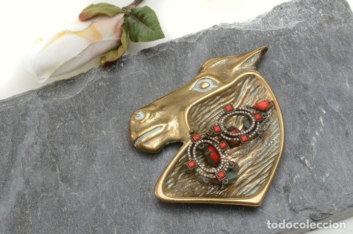 Ceniceros: Cenicero en forma de cabeza de caballo, decoración oficina, decoración deportivva - Foto 11 - 176295879