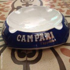 Ceniceros: PRECIOSO CENICERO CAMPARI. Lote 176748790