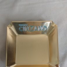 Cinzeiros: CENICERO PUBLICIDAD VERMOUTH CINZANO. Lote 176901600
