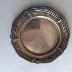 Ceniceros: CENICERO DE METAL PLATEADO. Lote 177391050