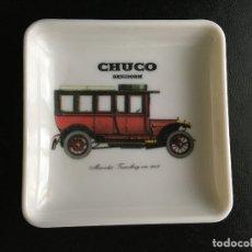 Ceniceros: CENICERO CHUCO CON MOTIVO DE COCHE. Lote 179546891