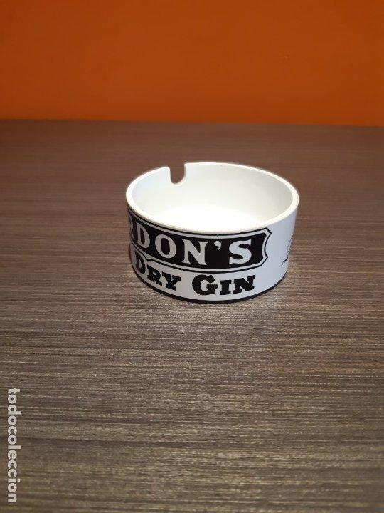 Ceniceros: Antiguo cenicero publicidad BURDONS DRY GYN - Foto 2 - 180105400