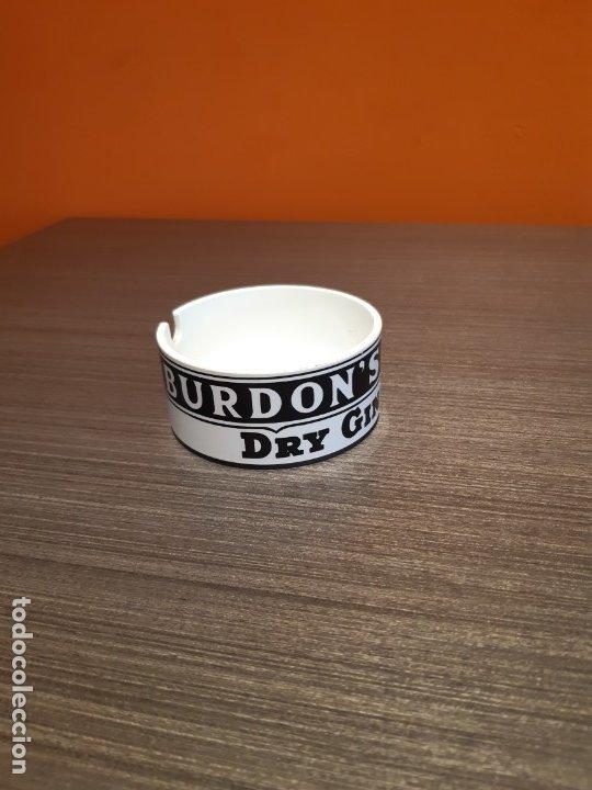 Ceniceros: Antiguo cenicero publicidad BURDONS DRY GYN - Foto 4 - 180105400