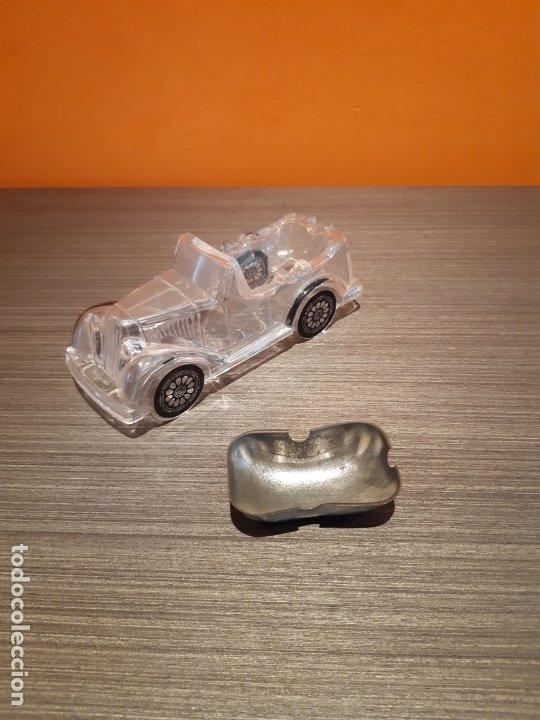 Ceniceros: Muy antiguo coche cenicero (ver fotos) - Foto 3 - 180105488