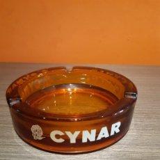 Ceniceros: ANTIGUO CENICERO PUBLICIDAD CYNAR. Lote 180114303