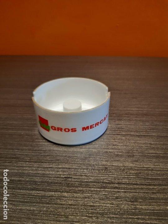ANTIGUO CENICERO PUBLICIDAD GROS MERCAT (Coleccionismo - Objetos para Fumar - Ceniceros)