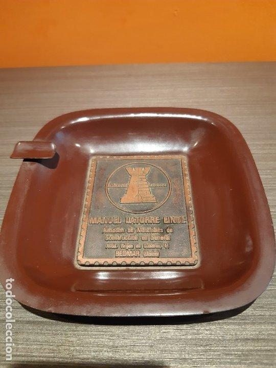 ANTIGUO CENICERO PUBLICIDAD ALMACÉN LA TORRE (JAEN) (Coleccionismo - Objetos para Fumar - Ceniceros)