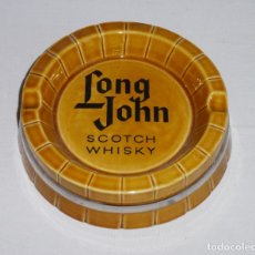 Cinzeiros: CENICERO - LONG JOHN - SCOTCH WHISKY - PORCELANA IT - SANTANDER.. Lote 208648188