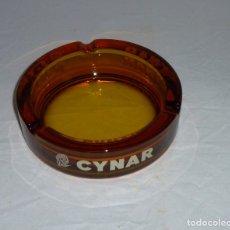Ceniceros: CENICERO DE CRISTAL - CYNAR.. Lote 182544516