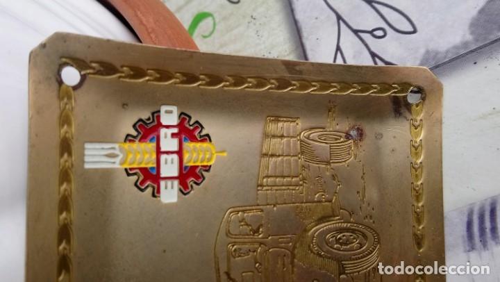 Ceniceros: Cenicero vintage de metal Camion Ebro - Foto 4 - 182809366