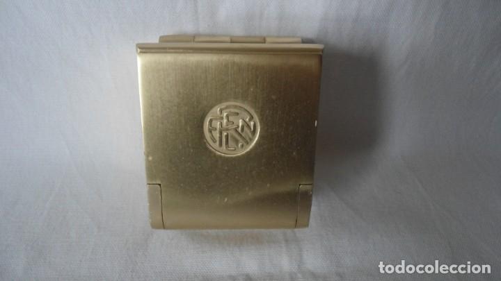 CENICERO DE VAGON DE TREN RENFE (Coleccionismo - Objetos para Fumar - Ceniceros)