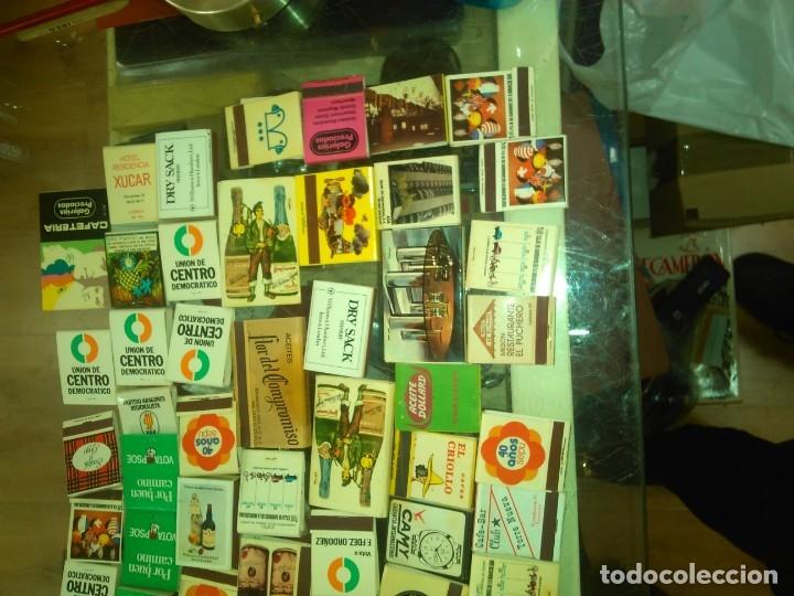 Ceniceros: LOTE DE CAJAS CON CERILLAS AÑOS 60 70 80 - Foto 3 - 183195781
