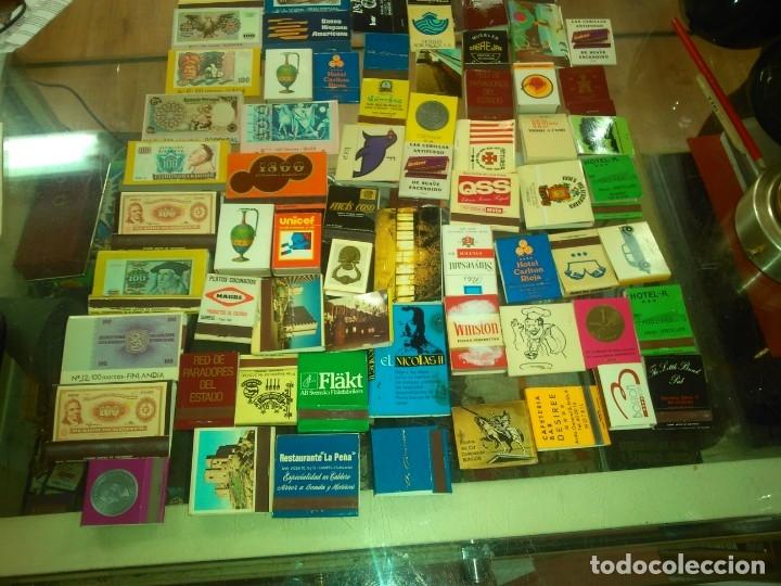 OTRO LOTE DE CAJAS DE CERILLAS AÑOS 60 70 80 -- CON CERILLAS (Coleccionismo - Objetos para Fumar - Ceniceros)