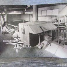 Ceniceros: CENICERO ALUMINIO ESPECIALIDADES ROBEL 1970 . TARJETERO, BANDEJA. Lote 183404027