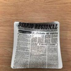 Ceniceros: CENICERO DIARIO REGIONAL. Lote 184444203