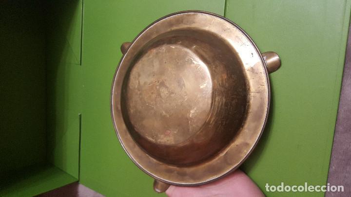 Ceniceros: CENICERO DE LATON Y CRISTALES - Foto 2 - 186275273