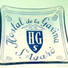Ceniceros: HOSTAL DE LA GAVINA S' AGARO GIRONA CENICERO DE CRISTAL. Lote 189900045