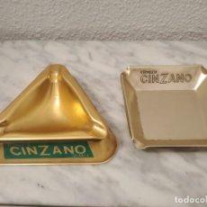 Ceniceros: LOTE CENICEROS CINZANO. Lote 189927960