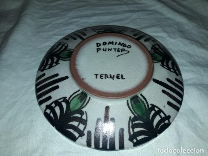 Ceniceros: Bello cenicero de cerámica Domingo Punter Teruel - Foto 4 - 191430087